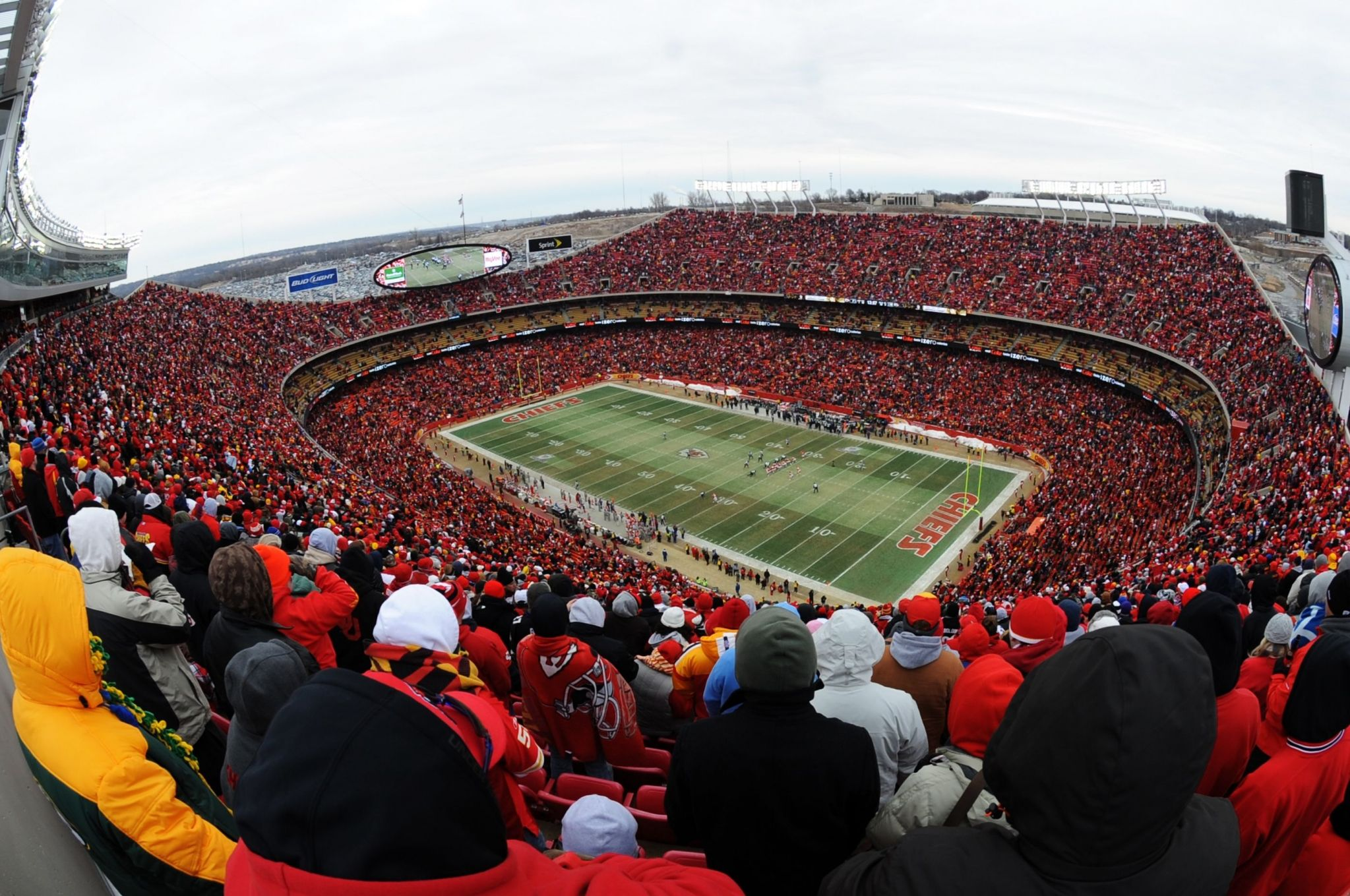 image of arrowhead stadium